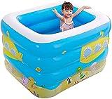 wsbdking Piscina Inflable, Pool Pool Play en el Centro de natación de Agua Piscinas para niños, Juguetes al Aire Libre Juego sobre Tierra, Fiesta de Agua de Verano, Adecuado para niños, 115 x 95 x 75