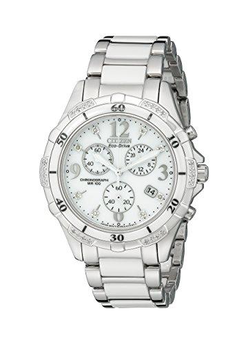 Best Women's Watches Under 500 - Citizen Women's Eco-Drive Chronograph Watch