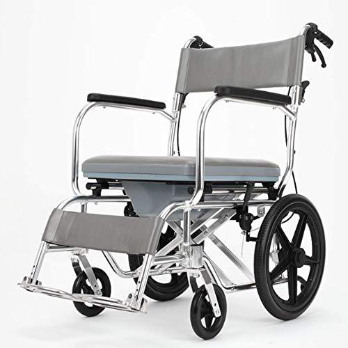 SED Silla de ruedas asistida Silla de ruedas manual, silla de ruedas plegable, diseño de silla reclinable 180 °