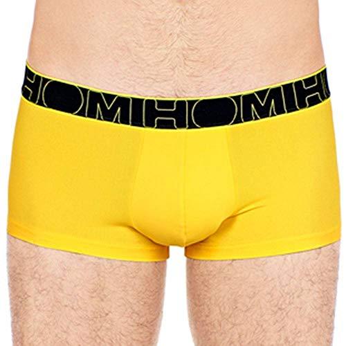 Bóxer amarillo ajustado sin costuras