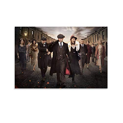 FANFF Peaky Blinders - Póster decorativo para pared (20 x 30 cm)