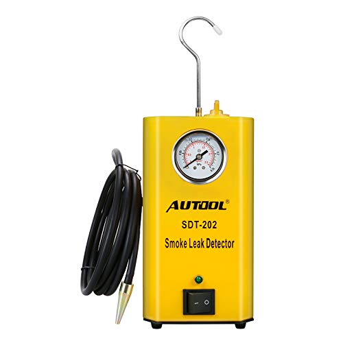 AUTOOL Automotive Leak Detector Tool Cars Leak Locator Tester Car Pipe Leakage Tester Support Evap for All Vehicles