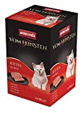 animonda Vom Feinsten Kitten, Nassfutter für wachsende Katzen im ersten Lebensjahr, mit Rind, 6 x 100 g