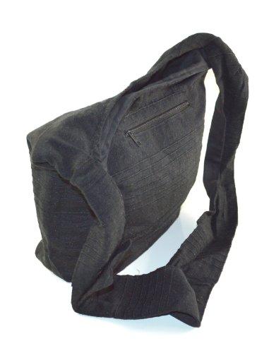 Yogi Tasche Handtasche Freizeittasche im Indi Style schwarz T-801