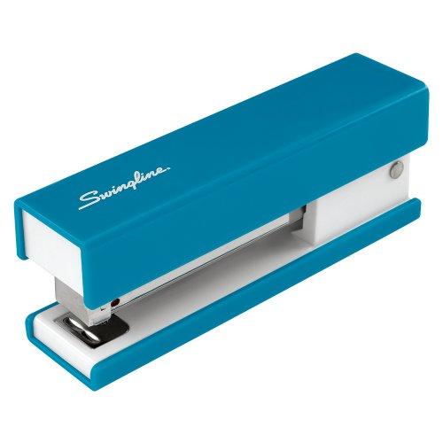 Swingline Half Strip Fashion Stapler, 20-Sheet Capacity, Blue (87826)