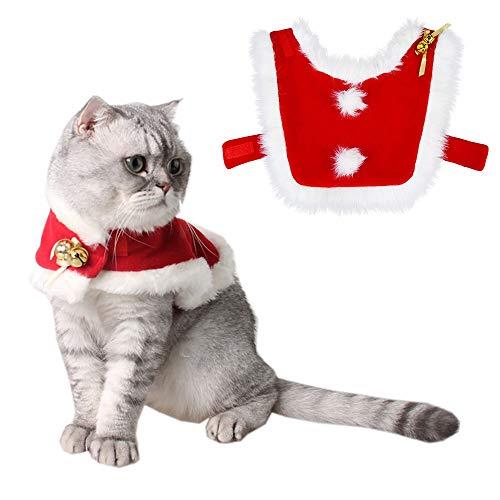 Tomkity Trajes Ropa para Mascotas Navidad Chaqueta Abrigo para...