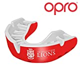 Opro British & Irish Lions 2017 Enfants - Protège Dents Argent - Rouge/Blanc - Taille Junior