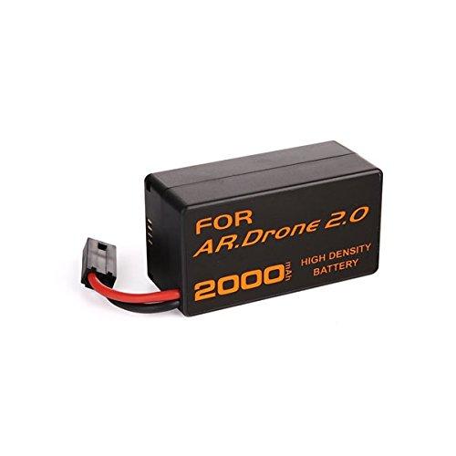 alta capacità nuovo batteria ricaricabile 2000 mAh 11.1V in Ioni di Litio Polymer Pack Sostituzione per Parrot AR.Drone 2.0 Quadricottero telecomandato