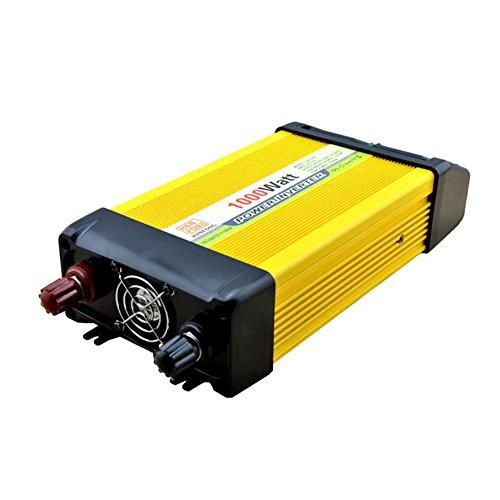 BQ Convertisseur @ Power Inverter DC 12V à 220V AC Convertisseur de voiture solaire avec adaptateur allume-cigare 1000W