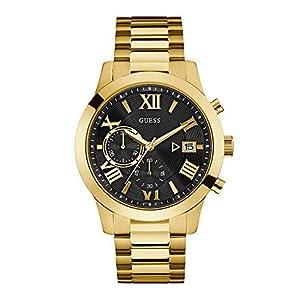 Guess Homme Uhr Analogique Quartz mit Acier Armband W0668G8