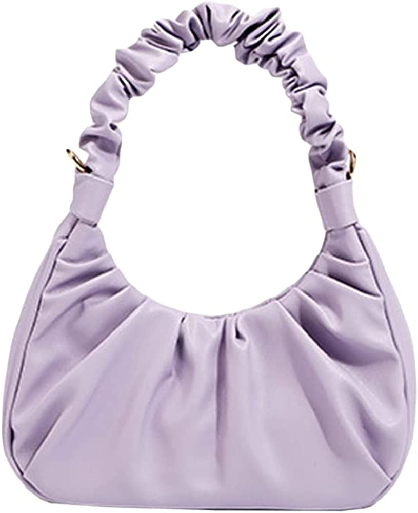 Women's Shoulder Bags Crossbody Chic Cloud Hobo Handbags With One Removable Strap