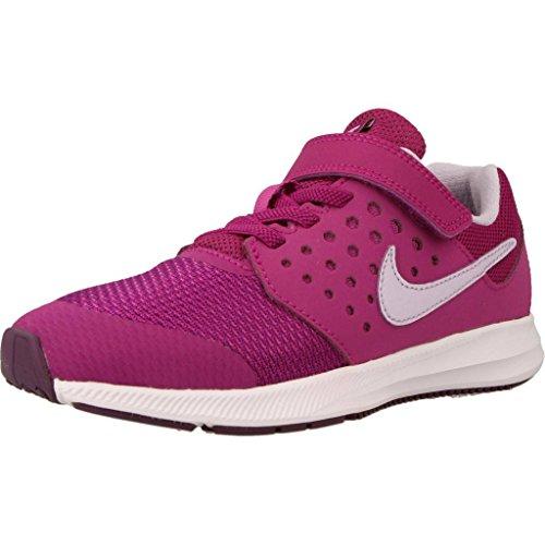 Nike Downshifter 7 (PSV), Zapatillas de Running Niña, Multicolor (Night Purple/Violet Mist/Bold Berry 500), 33 EU