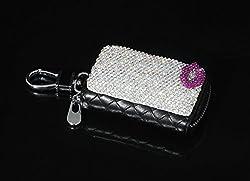Rose Mini Lip Bling Car Key Holder