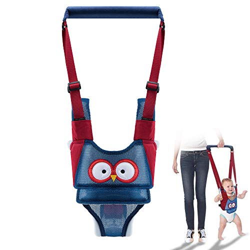 YFSEOS Arnés de Seguridad Bebe,Toddler Walking Assistant,Ajustable Arnés de Seguridad Bebe con Hebilla de Seguridad,Transpirable Cinturón de Andador (A)
