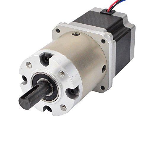 STEPPERONLINE Nema 23 Getriebemotor 15:1 Planetengetriebe Getriebe 2,8A Schrittmotor für CNC 3D Drucker
