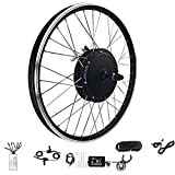 Kit de rueda de bicicleta eléctrica 48V 1500W 20