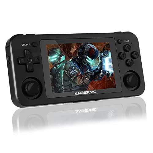 RG351M Retro Game Console- Wireless Video Handheld Game Console Built in 2512 Games, 20 Emulators 3D...
