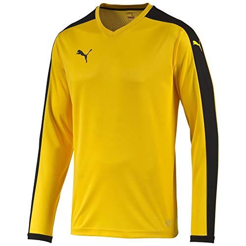 Camiseta manga larga. Hombre., Color Amarillo