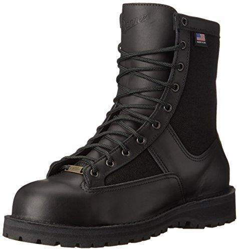 Danner Men's Acadia 8' Non-Metallic Safety Toe Boot, Black, 10 EE US
