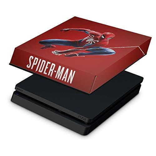 Capa Anti Poeira para PS4 Slim - Homem Aranha Spider-man