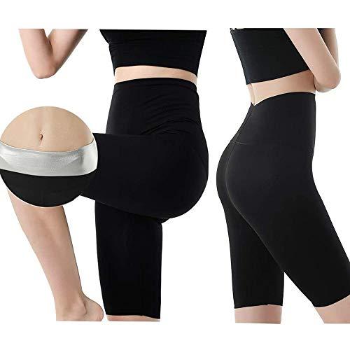 Pantaloni da Donna Dimagrante Pantaloncino Sauna Fitness Varie Misure Modellante Effetto Collant Slimming per Favorire Perdita di Peso Hot ShaperM