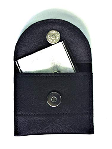 Hearing Aid Batteries/Accessories Pocket Leather Pouch