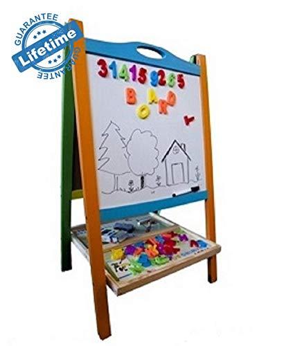 Fantastic Deal! Pizarra Magnética De Doble Cara para Niños Caballete para Dibujar Pintar Leer