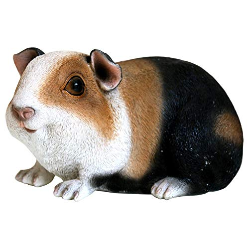 Garden Statues and Sculptures Outdoor Animal Garden Statue Funny Outdoor Sculpture Resin Guinea Pig Lawn Ornaments for Backyard, Porch, Home, Patio, Lawn Decorations