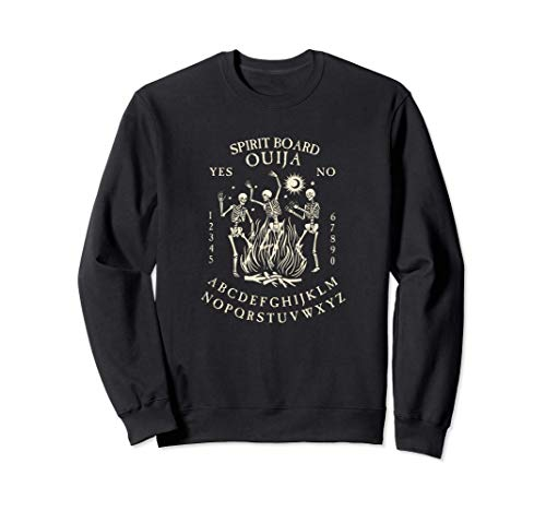 Occult Ouija Board with Dancing Skeletons Sudadera