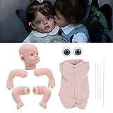 chengong Muñeca Reborn sin Pintar, Kits de muñecas Kits de muñecas Reborn DIY, Muñeca Reborn de Vinilo de 12 Pulgadas para niños para bebé de Juguete(White, 12inch)