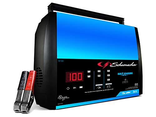 Schumacher 15 Amp 3 Amp 6V/12V Fully Automatic Smart Battery Charger $48.92 + Free shipping