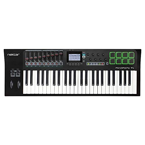 Panorama T4 USB MIDI Keyboard with Nektar DAW Integration and Nektarine PlugIn Control