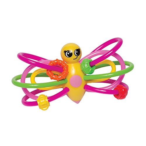 Manhattan Toy Winkel Papillon Hochet et anneau de dentition Sensorielle bébé jouet
