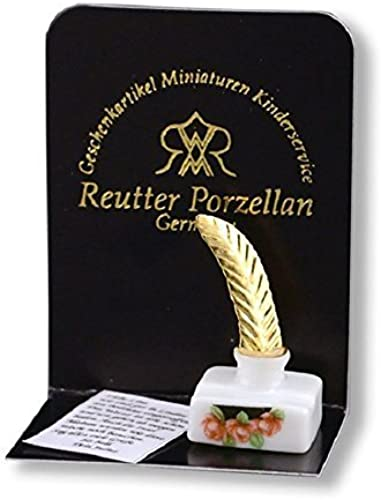 Dollhouse Miniature Ink Well Set by Reutter Porcelain by Reutter Porcelain