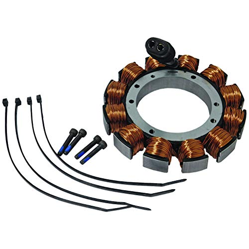 New Replacement For Harley Davidson Motorcycle Stator 32 AMP Dyna Softail Super Glide Touring Electra Road King 29970-88, HD01-123, 2997088