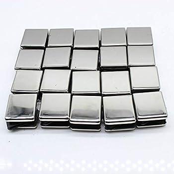 YUNRUX - Pinza para cristal (20 unidades, 10 mm de espacio, soporte para cristal, acero inoxidable, pinza de sujeción, parte trasera plana para escalera de barandilla, 45 x 45 x 20 mm): Amazon.es: Bricolaje y herramientas