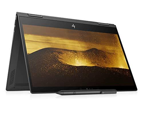 HP Envy x360 Ryzen 3 13.3-Inch 2-in-1 FHD Touchscreen Laptop (4GB/128GB/Windows 10/Dark Ash Silver/1.3 kg), 13-ag0034AU
