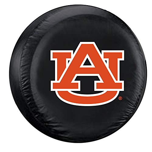 Fremont Die NCAA Auburn Tigers Tire Cover, Standard Size (27-29' Diameter), Black/Team Colors