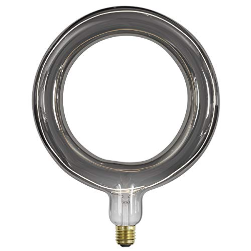 Calex RADA LED Range Extension Ring 264mm 220-240V 6W E27, Titanium dimbaar