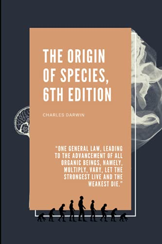 THE ORIGIN OF SPECIES,6TH EDITION: Charles Darwin Collection