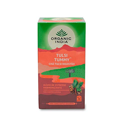 Chá Tulsi digestivo - Tummy