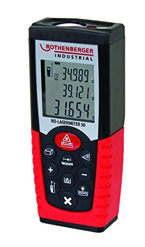 Rothenberger Industrial RO 50 Laser Distanzmessgerät, Messdistanz 50 M, 1500000598