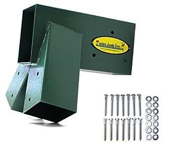 Eastern Jungle Gym Easy 1-2-3 A-Frame Swing Set Bracket Heavy Duty for EZ Simple Install - DIY Swing Set Parts