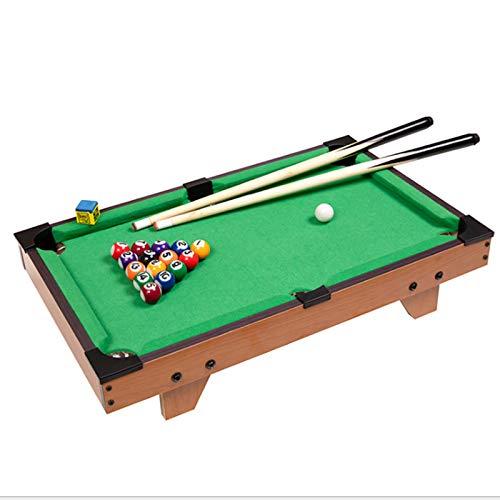 HWGNT Mini Pool Table Children Kids Snooker Billiards Set Cues Balls for Indoor Sports 27x14x7in Kids Gifts