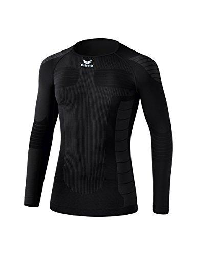 Erima - Running Kompressions-T-Shirts für Jungen in Schwarz, Größe 128