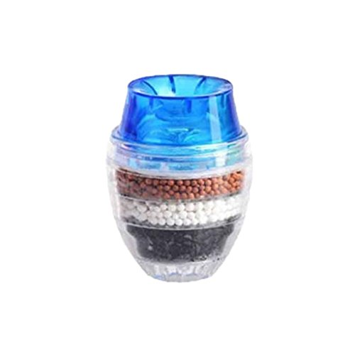 Leoboone Hot Worldwide Coconut Carbon Home Kitchen Faucet Tap Water Clean Purifier Filter Cartridge Round Tap Filter Non-Woven Layer
