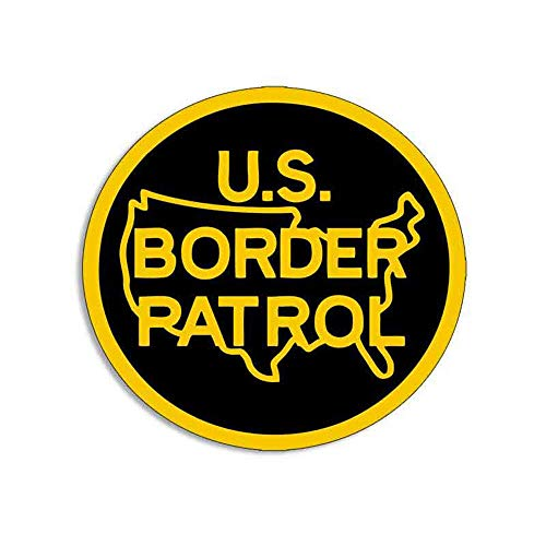 13Cm X 12.3Cm voor ons Border Patrol Creatieve Auto Decal Auto Truck Pinup Scratch Proof Sticker Occlusie Scratch Decals