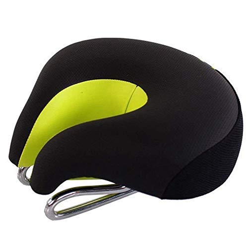 CT-CT Cycling Accessory Bicycle Bike Seat Cycling Saddle Cushion High Resilience Breathable Bicycle MTB Mountain Bike Comfort No Split-Nose Saddle Cushion