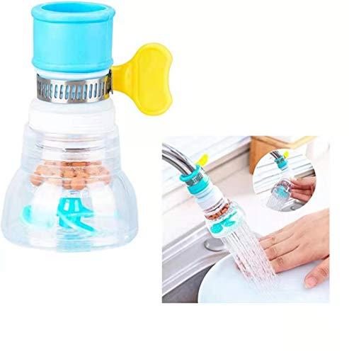 ITKS - Filtro de agua para grifo a prueba de salpicaduras, filtro de agua para cocina, alcachofa de ducha, utensilios de cocina, multifuncional grifo universal (1 unidad)