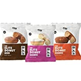 FINALLY, A DONUT YOU CAN FEEL GOOD ABOUT: The Elite Donut- 12-13g Protein and contains ONLY 1-2g of Sugar. Keto Friendly, Gluten Free, Soy Free, No Added Sugar. Great cake like Taste! KETO FRIENDLY: LOW CARB, Only 1-6 Net Carbs and 1-2g Sugar, Keto j...